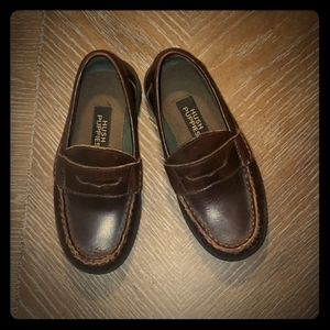 "Boy's Hush Puppies ""Lincoln"" Loafers size 11"